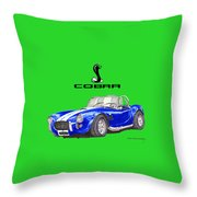 1966 Snake On A Shirt Throw Pillow