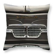 1967 Autobianchini Special Italy Grille Throw Pillow