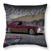 1967 Biscayne Throw Pillow