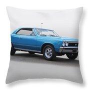 1967 Chevelle Super Sport Ss396 Throw Pillow