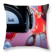 1967 Chevrolet Corvette Throw Pillow by Jill Reger