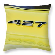 1967 Chevrolet Corvette Sport Coupe Emblem Throw Pillow