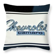 1967 Chevy Camaro Throw Pillow