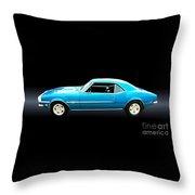 1968 Chevy Camaro Ss Throw Pillow