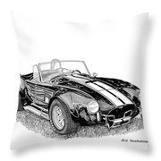 1967 Cobra Sc Throw Pillow