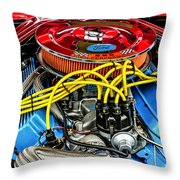 1967 Ford Molly Mustang Throw Pillow