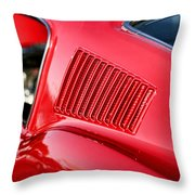 1967 Ford Mustang Gt  Throw Pillow