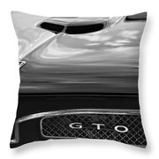 1967 Pontiac Gto Throw Pillow by Gordon Dean II