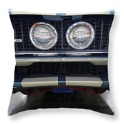 1967 Shelby Gt500 Throw Pillow