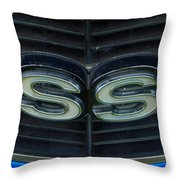 1968 Chevell Ss 298 Throw Pillow