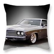 1968 Chevelle Super Sport Ll Throw Pillow