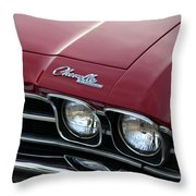 1968 Chevy Chevelle Ss Throw Pillow