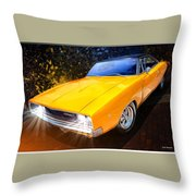 1968 Dodge Charger Coupe Throw Pillow