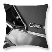 1968 Dodge Charger R/t Throw Pillow