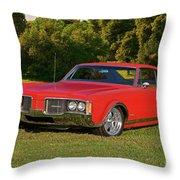 1968 Oldsmobile Delta 88 Throw Pillow