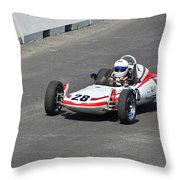 1968 Zink Formula Vee Throw Pillow