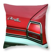 1969 Chevy Chevelle Ss 396 Throw Pillow