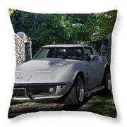 1969 Corvette Lt1 Coupe I Throw Pillow