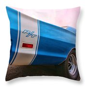 1969 Dodge Coronet Rt Throw Pillow