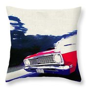 1969 Ford Falcon Futura Throw Pillow