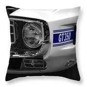 1969 Ford Mustang Shelby Gt350 1970 Throw Pillow