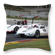 1969 Lola T163 And 1965 Wolverine Road America Throw Pillow