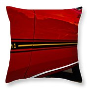 1969 Mustang Mach I Throw Pillow