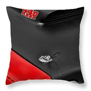 1969 Plymouth Road Runner 440 Throw Pillow