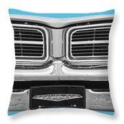1969 Pontiac Gto  Throw Pillow