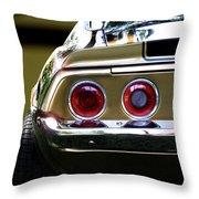 1970 Camaro Fat Ass Throw Pillow