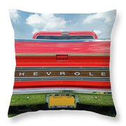 1970 Chevrolet Cs-10 Pickup Throw Pillow