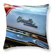 1970 Chevy Chevelle Ss 396 Ss396 Throw Pillow