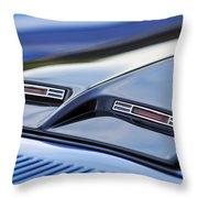 1970 Ford Mustang Gt Mach 1 Hood Throw Pillow