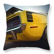 1970 Hemi 'cuda  Throw Pillow