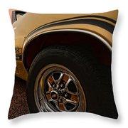 1970 Oldsmobile Cutlass 4-4-2 W-30  Throw Pillow by Gordon Dean II