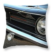 1970 Plymouth Barracuda 'cuda 440 Throw Pillow