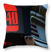 1970 Plymouth 'cuda 440 Throw Pillow