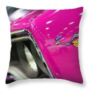 1970 Plymouth Road Runner Throw Pillow by Gordon Dean II