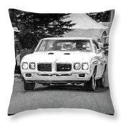 1970 Pontiac Gto Throw Pillow