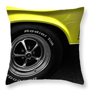 1971 Ford Mustang Mach 1 Throw Pillow