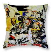 1971 - French Connection - Throw Pillow