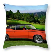 1972 Buick Gsx 455 Stage 1 Throw Pillow