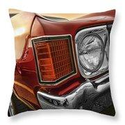1972 Chevrolet Chevelle Ss  Throw Pillow