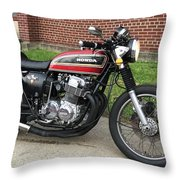 1973 Honda Cb750 Throw Pillow