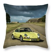 1973 Porsche 2.7 Rs Throw Pillow