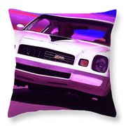 1978 Chevy Camaro Z28 Throw Pillow