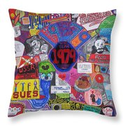 1979 Throw Pillow