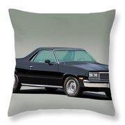 1983 Chevrolet El Camino 1 Throw Pillow