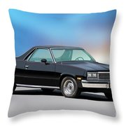 1983 Chevrolet El Camino 2 Throw Pillow