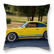 1983 Porsche Haut 911 Throw Pillow